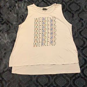 Pool house brand sleeveless shirt size XL